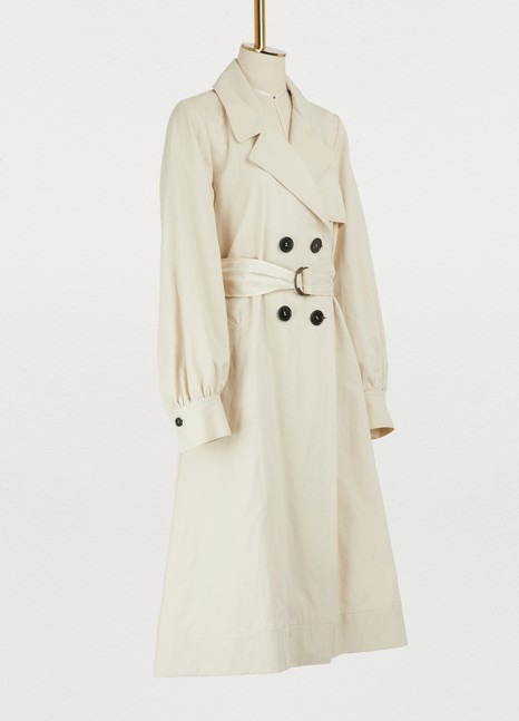 Forte_Forte Cotton trench coat