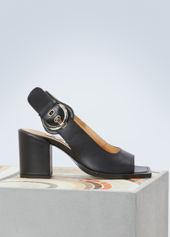 Aalto Chuky high-heeled sandals