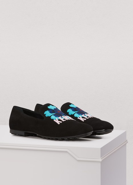 Discount Recommend Outlet Low Shipping Fee Kenzo Lamb flowers loafers Outlet Big Discount Free Shipping Real s4ACO