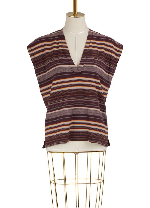 JAMES PERSEShort-sleeved V-neck T-shirt