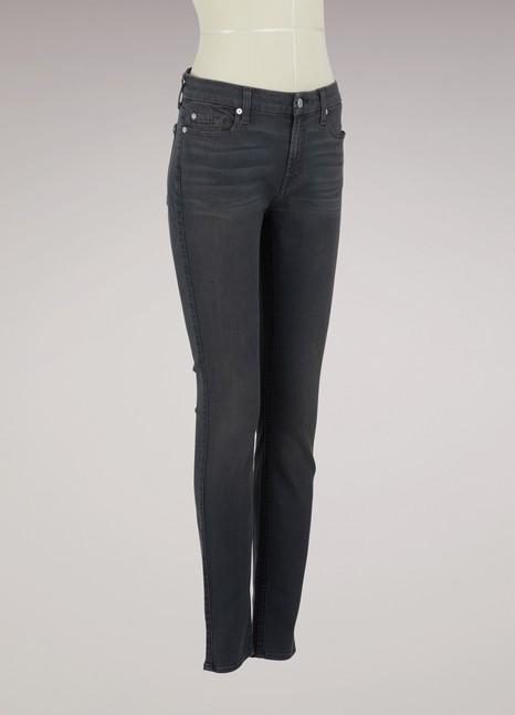 7 FOR ALL MANKIND Jean taille mi-haute The Skinny