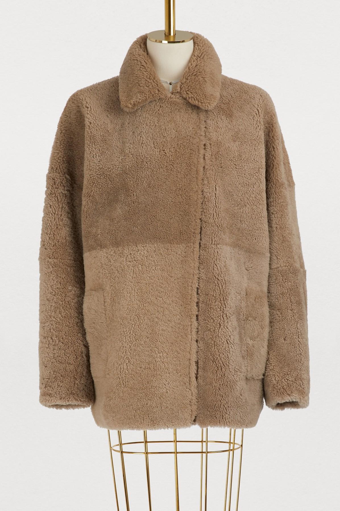 Manteau en shearling Etna