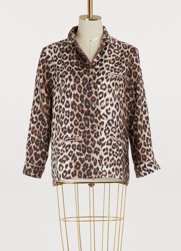 La Prestic OuistonLeopard shirt
