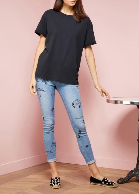 MAJESTIC FILATUREST-shirt ample en coton deluxe