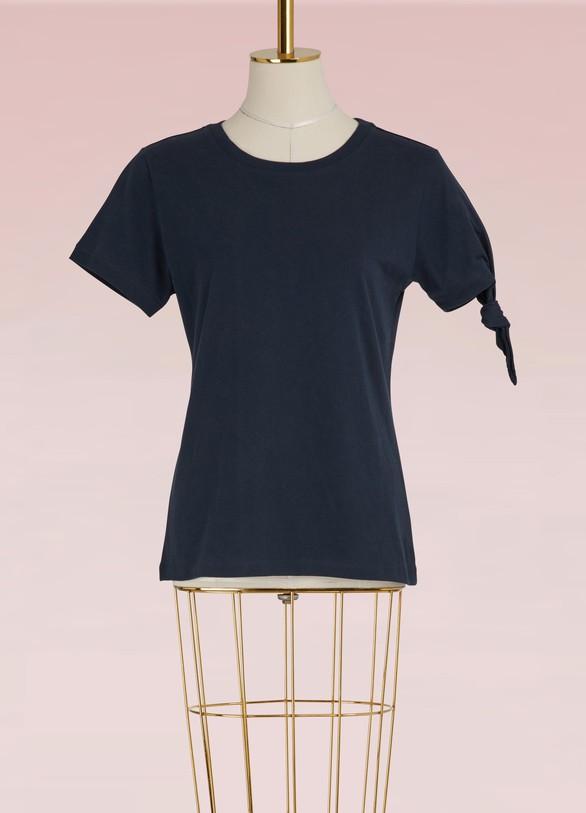 JW AndersonT-shirt à nœud en coton