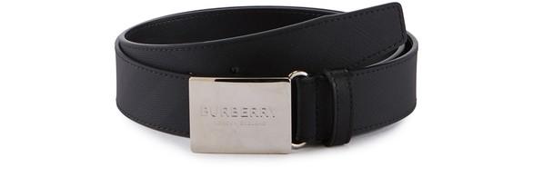 BURBERRYPlaque Buckle 35 belt