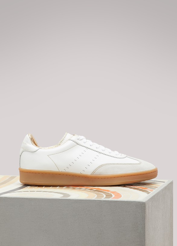 ZespaNappa leather sneakers