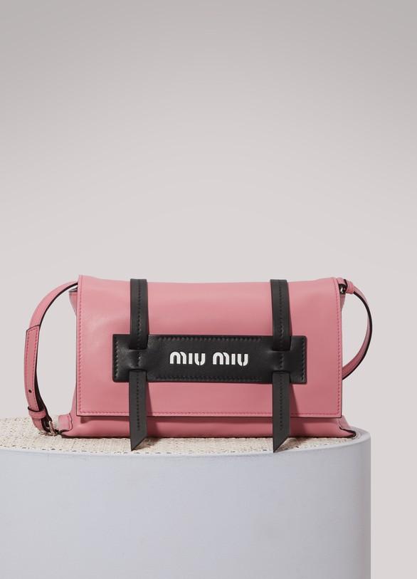 Miu MiuLogo PM clutch