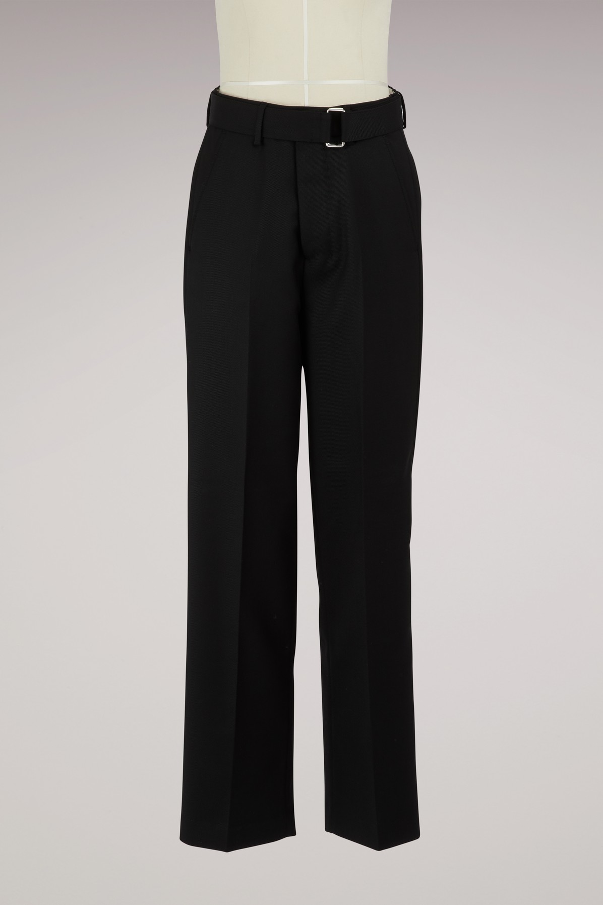 AMI | Large pants with belt | Goxip