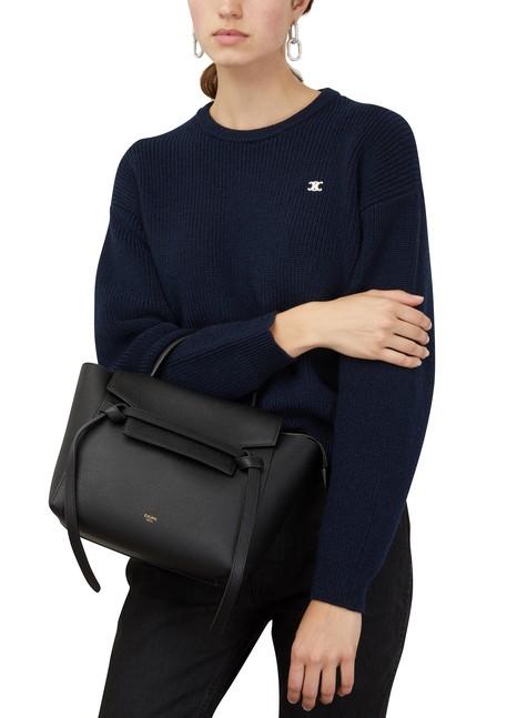 CELINEMicro Belt bag in grained calfskin