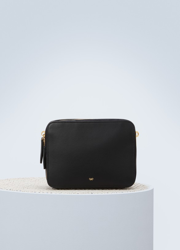 ANYA HINDMARCH Sac porté épaule The stack double