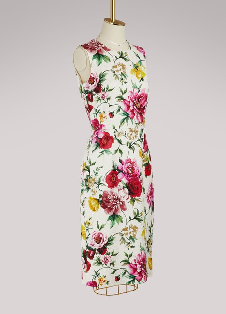 Dolce & GabbanaRobe midi Flowers