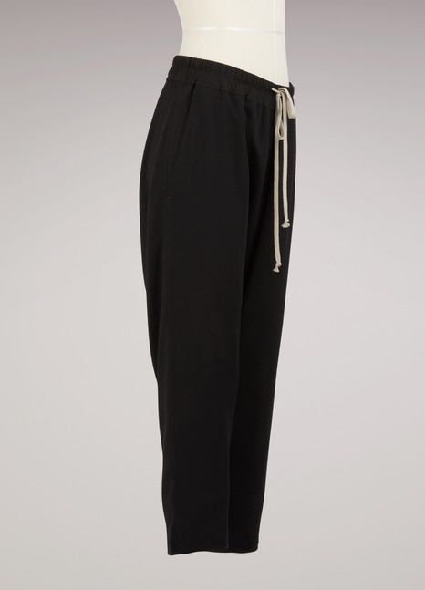 Rick Owens Wool cropped trousers