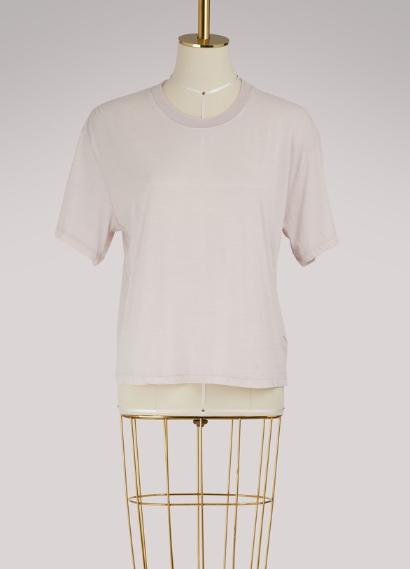 James Perse Short sleeve cropped t-shirt