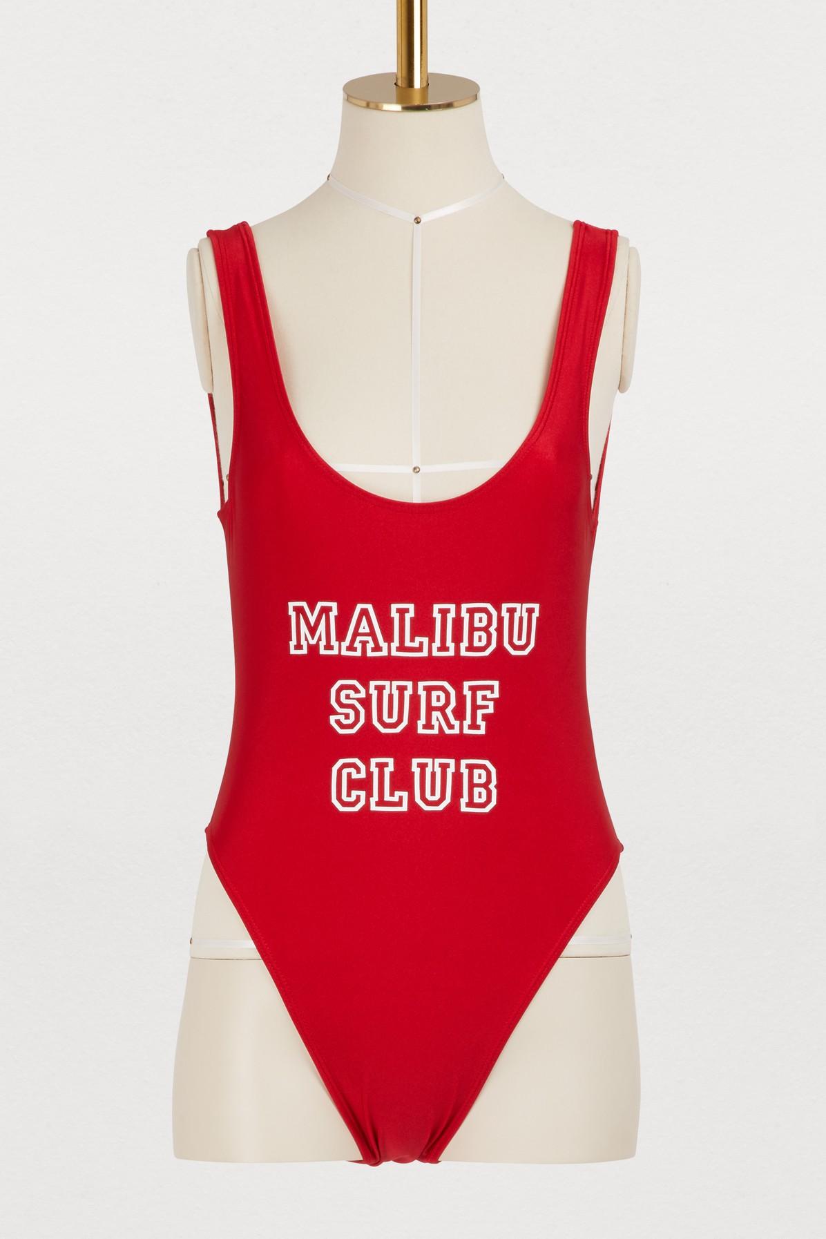 Maillot une pièce Malibu surf club