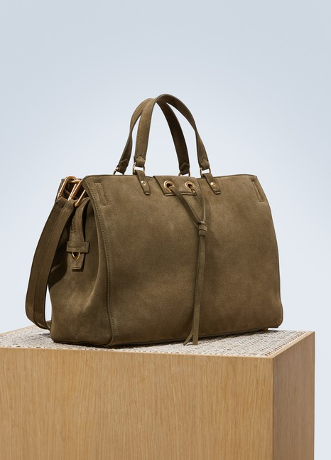 Vanessa Bruno Charly suede leather tote