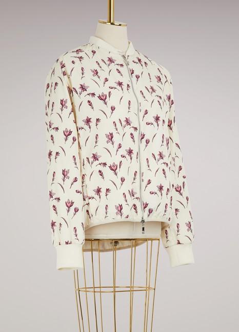 MonclerMackay flower print bomber jacket
