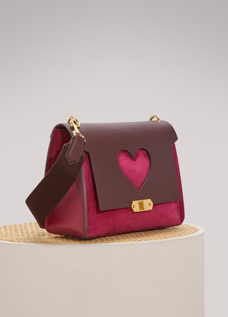 Anya HindmarchHeart extra-small bathurst satchel