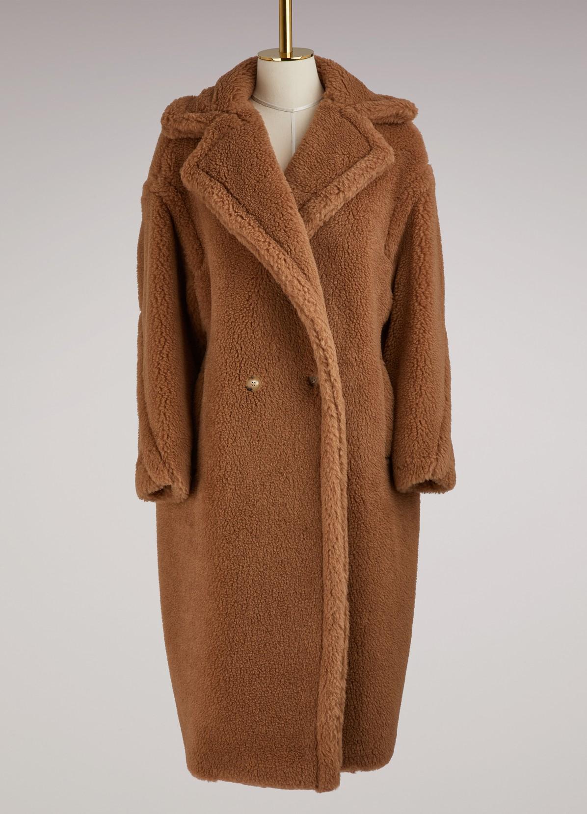 manteau en alpaga aurelia max mara 24 s vres. Black Bedroom Furniture Sets. Home Design Ideas