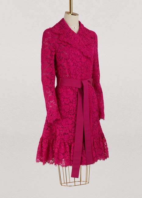 Dolce & Gabbana Lace trench coat