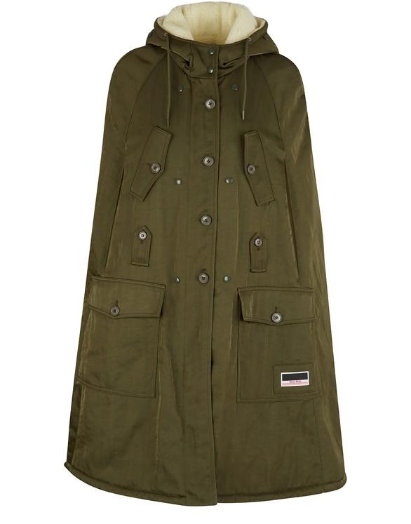 MIU MIUFaux-fur coat