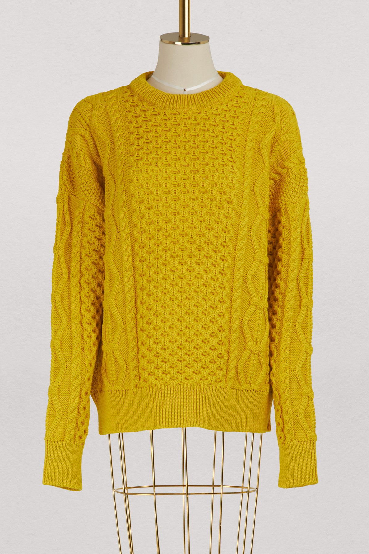 AMI | Irish sweater | Goxip