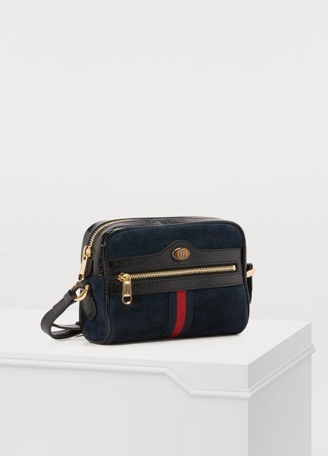 GucciOphidia suede mini bag