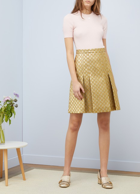 CourrègesShort sleeves knit top