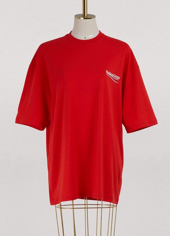 BalenciagaBalenciage oversized T-shirt