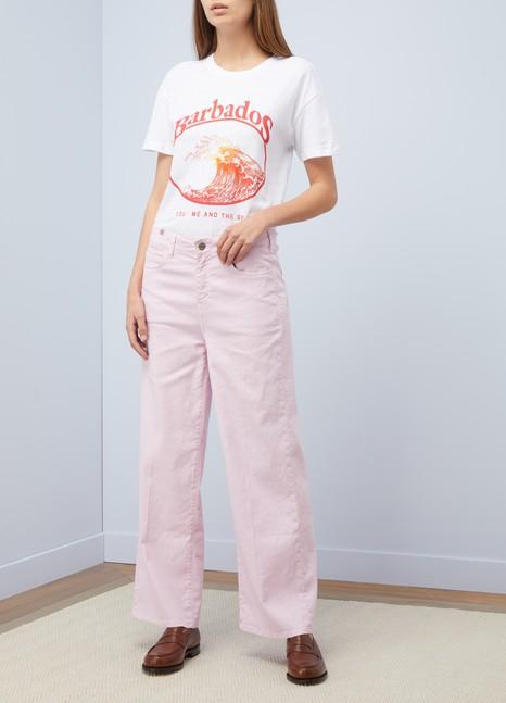 "Zoe Karssen""Barbados"" boyfriend-cut T-shirt"