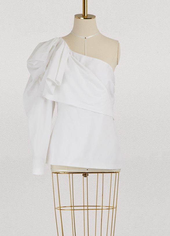 Haut asymmétrique GiadaStella McCartney Prix De Liquidation XFtinqzt1