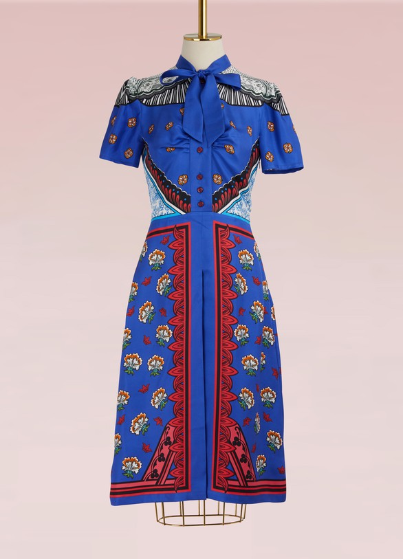 MARY KATRANTZOU Robe en soie Belote