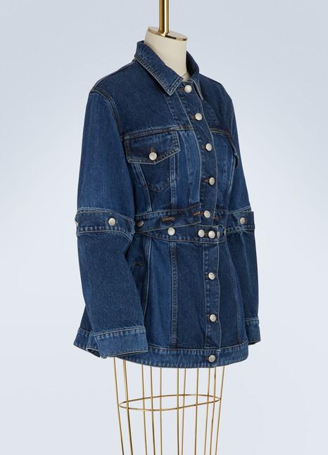Alexander McQueenVeste en jean