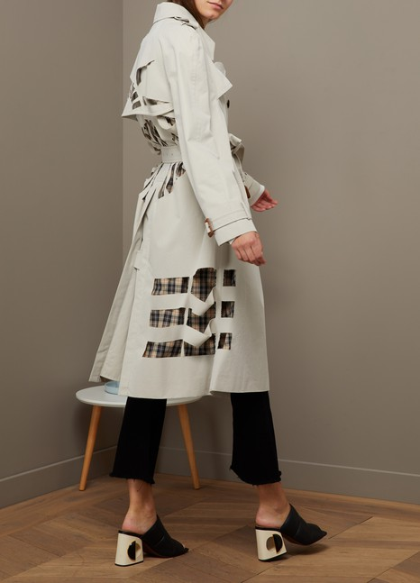 Maison Margiela Destructured trench coat