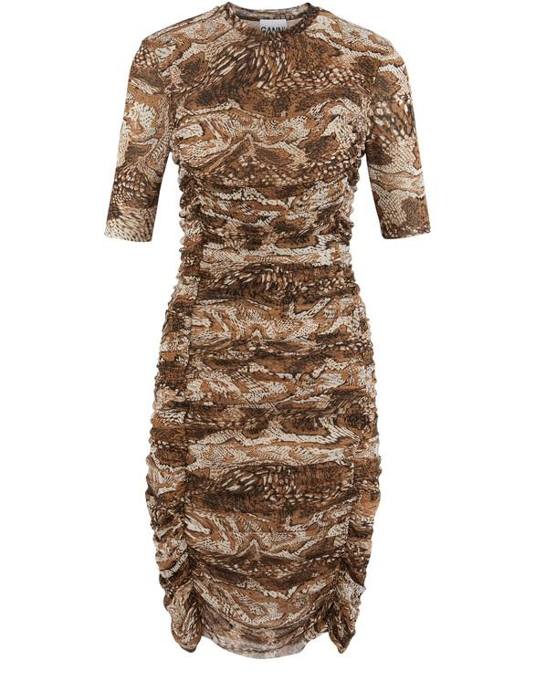 GANNIRuched dress