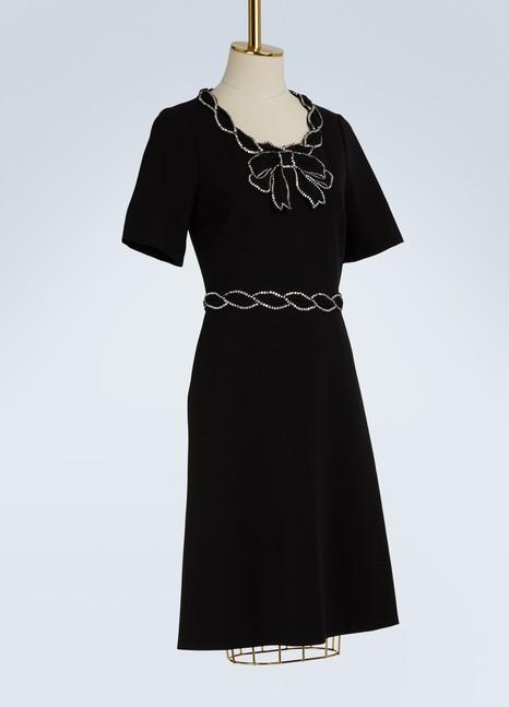 GucciVelvet collar mini-dress