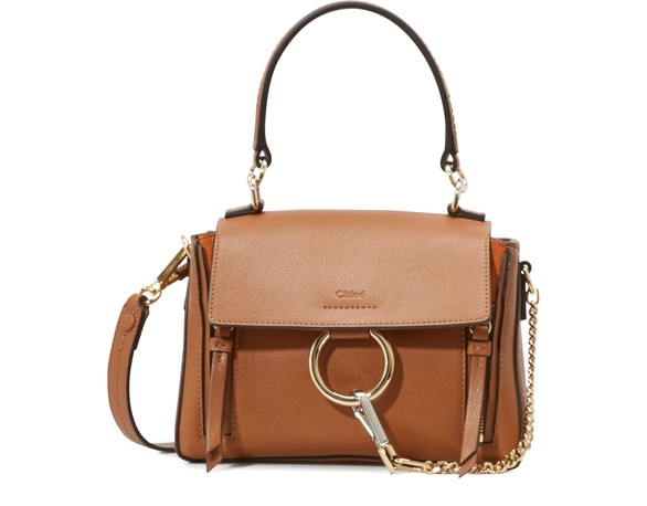 CHLOEMini sac double porté Faye Day