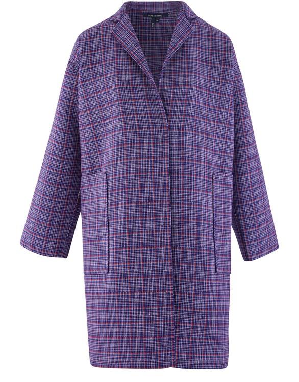 SOFIE D'HOORECheck wool coat