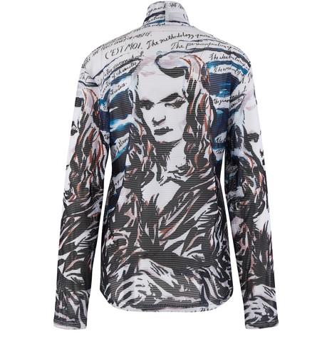DIORT-Shirt en mesh technique