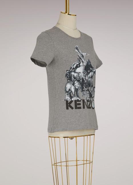 KENZOT-shirt Animals en coton