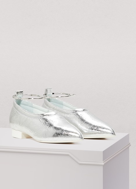 Jil Sander Leatehr loafers