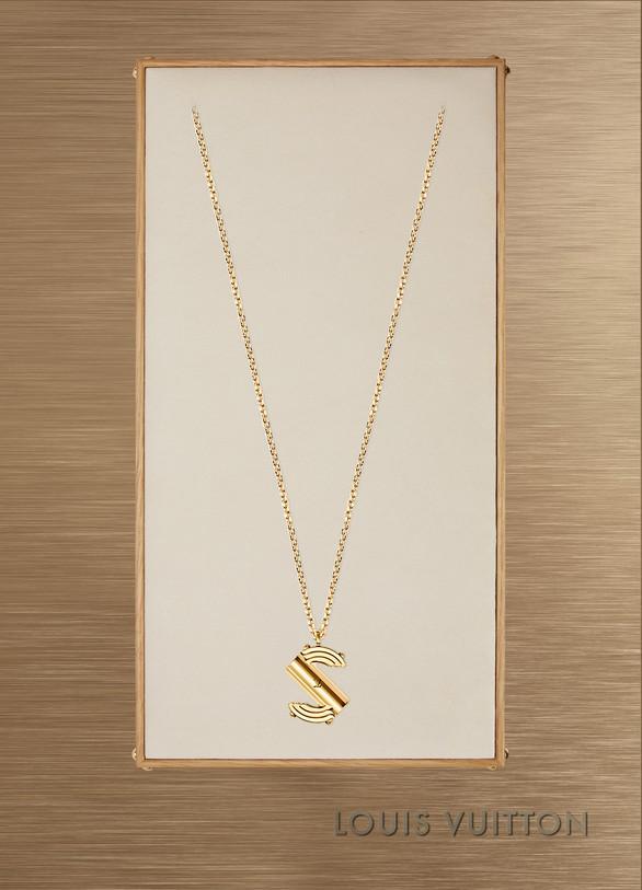 Louis VuittonCollier LV & Me, lettre S