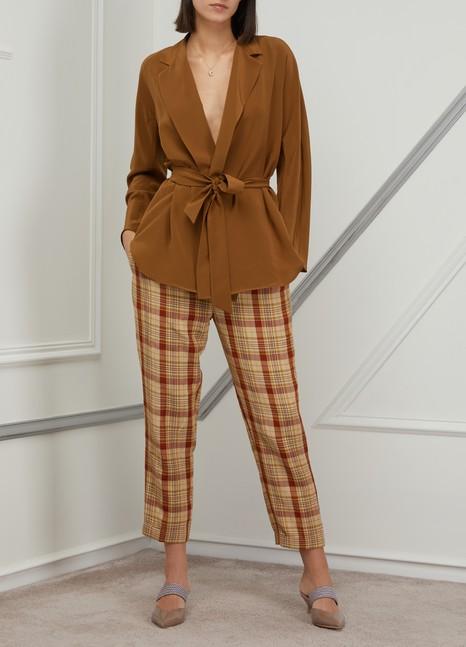 ACNE STUDIOSChecked pants
