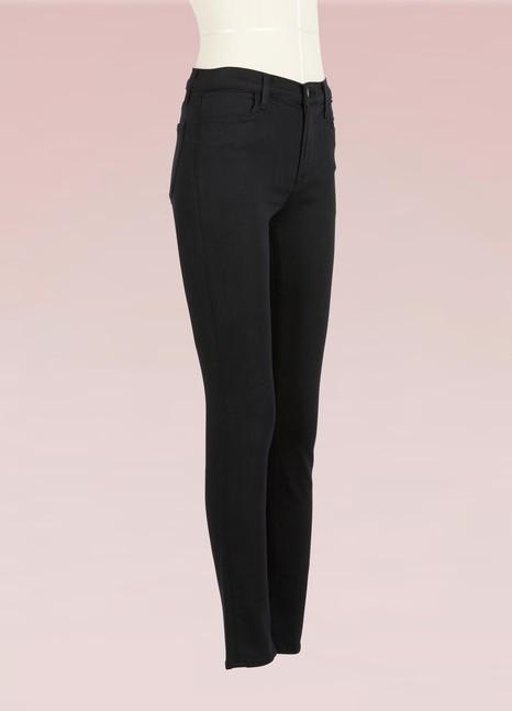 J BrandMaria Skinny High-Waisted Jeans