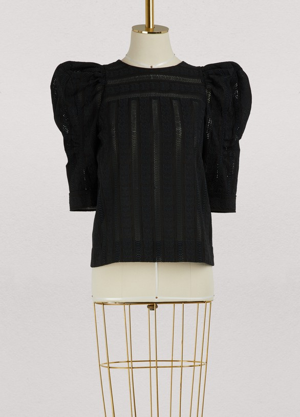 Chloé Bubble sleeves top