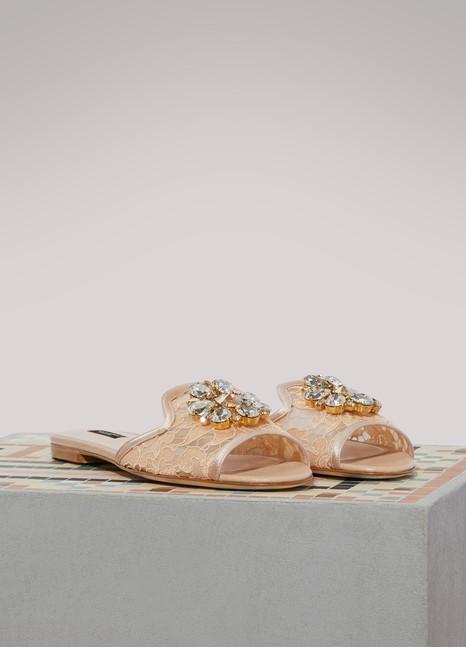 Dolce & GabbanaMules Bianca