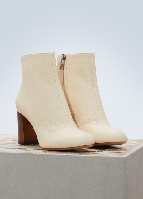 ChloéLeather ankle boots