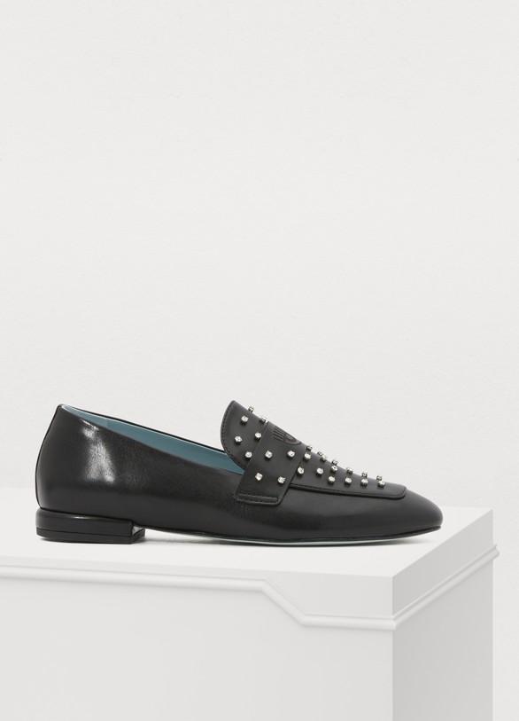 Chiara FerragniCrystal loafers