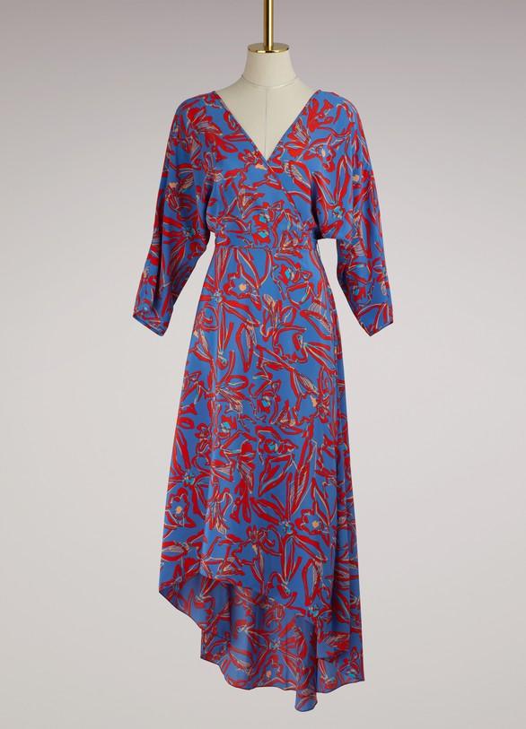 Diane Von FurstenbergRobe asymetrique en soie