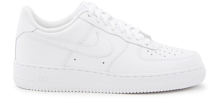 Nike Air Force 1 Sage Xx Platform Sneakers In White/White